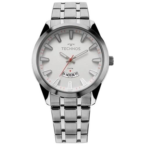 Relógio Masculino Technos Prata 2115KZB/1B