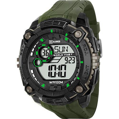 Tudo sobre 'Relógio Masculino X-Games Digital Esportivo XMPPD232-BXEX'