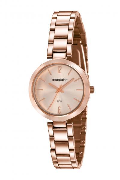 Relógio Mondaine Feminino 53611lpmvre2 Rose