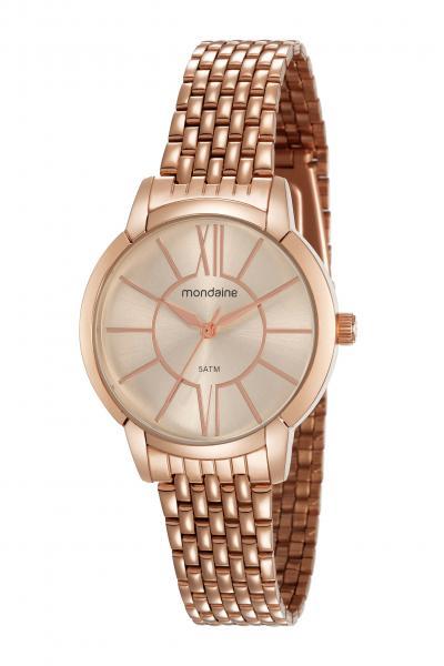 Relógio Mondaine Feminino 53615lpmvre3 Rose