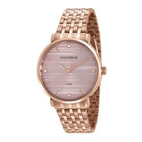 Relógio Mondaine Feminino 53651lpmvre2 Rosê