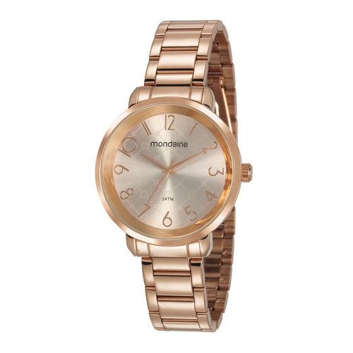 Relógio Mondaine Feminino 53657lpmvre2 Rosê