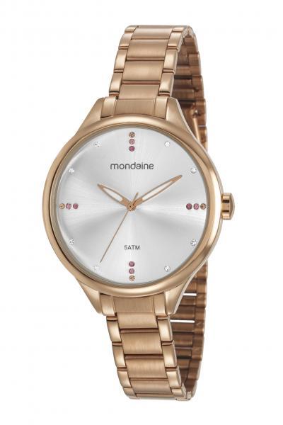 Relógio Mondaine Feminino 53670lpmvre2 Rosê