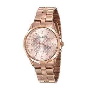 Relógio Mondaine Feminino 53674lpmvre1 Rosê