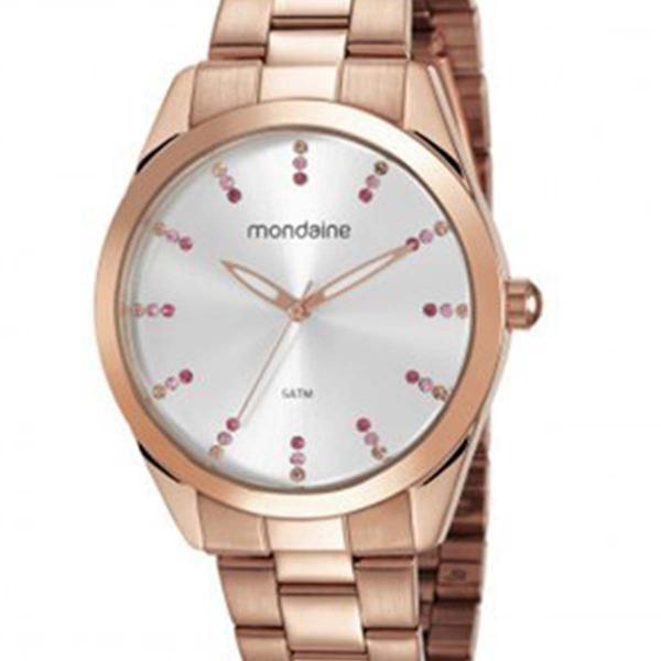 Relógio Mondaine Feminino 53672LPMVRE4 Rosê