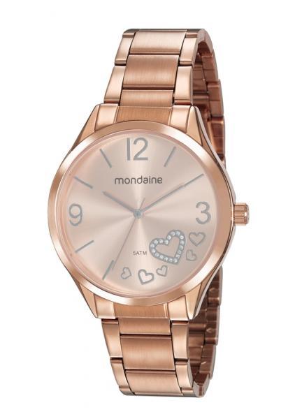 Relógio Mondaine Feminino 53821LPMVRE3 Rosê