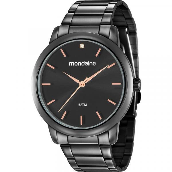 Relógio Mondaine Feminino Preto 53616LPMVPE3