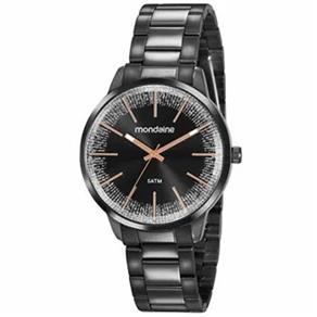 Relógio Mondaine Feminino Preto 53762lpmvpe3