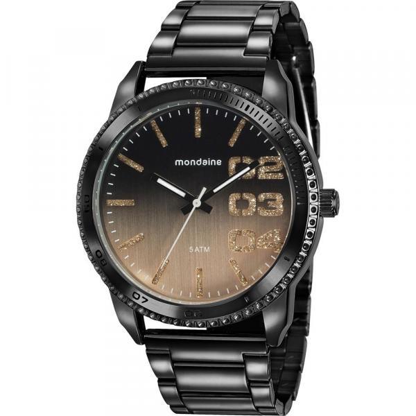 Relógio Mondaine Feminino Preto 76725LPMVPE1