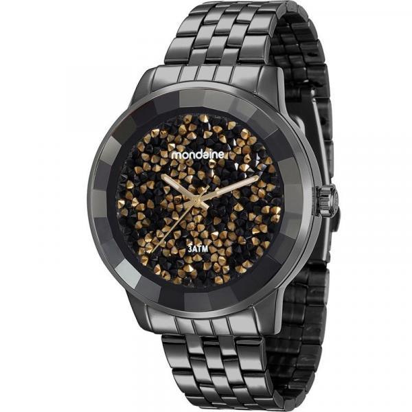 Relógio Mondaine Feminino Preto 94713LPMVPE9