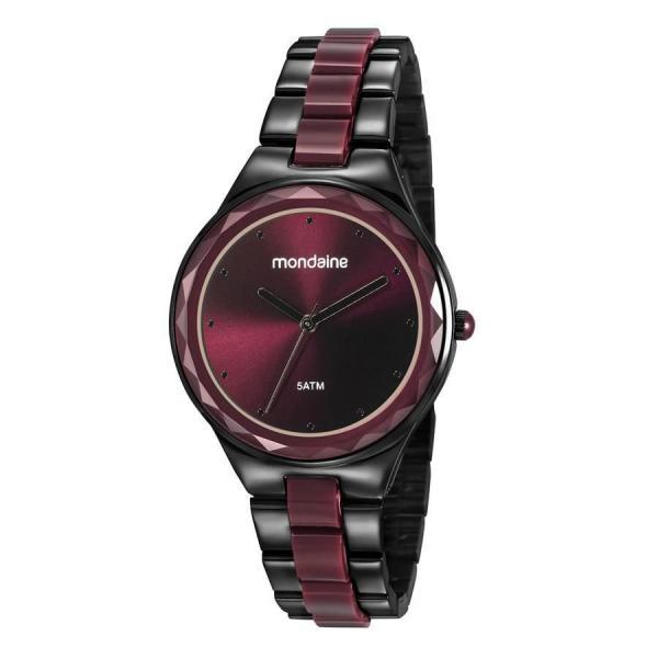 Relogio Mondaine Feminino Ref: 53767lpmvpf3 Fashion Black