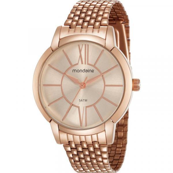 Relógio Mondaine Feminino Rosê 53615LPMVRE3