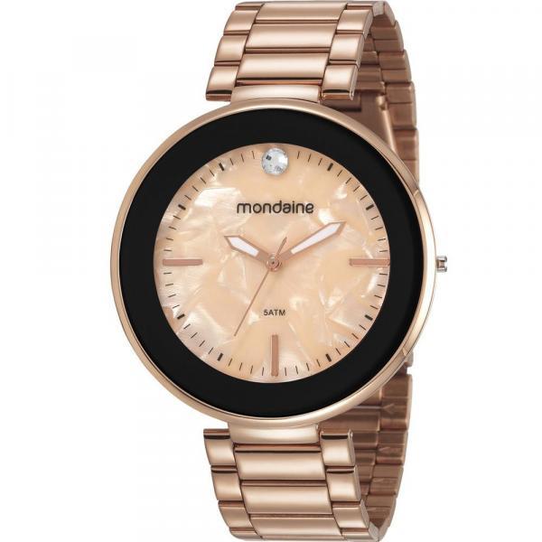 Relógio Mondaine Feminino Rosê 53613LPMVRE3