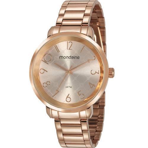 Relógio Mondaine Feminino Rosé 53657lpmvre2
