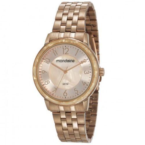 Relógio Mondaine Feminino Rosê 53658lpmvre1