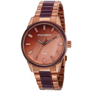 Relógio Mondaine Feminino Rosê 53663lpmvre2