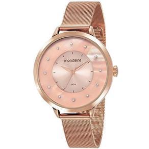 Relógio Mondaine Feminino Rosê 53751lpmvre2