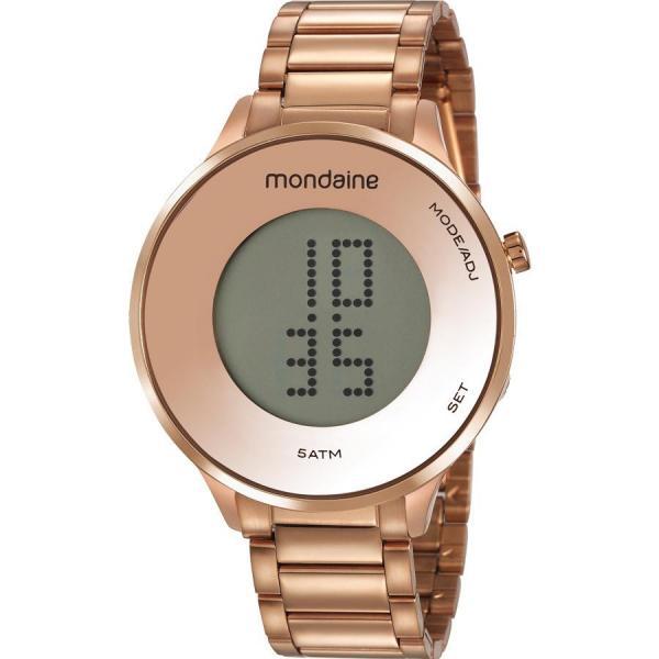 Relógio Mondaine Feminino Rosê 53786LPMVRE2