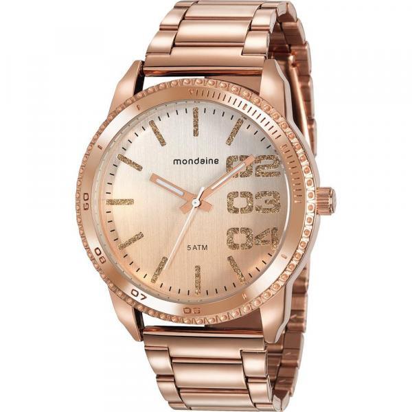 Relógio Mondaine Feminino Rosê 76725LPMVRE2