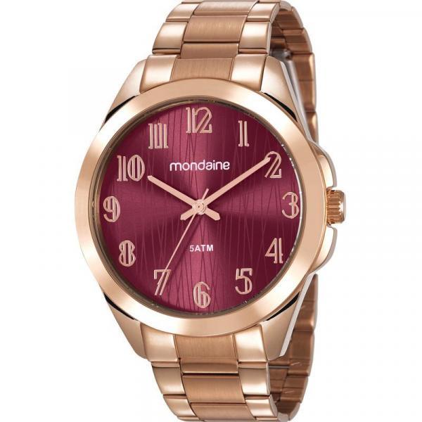 Relógio Mondaine Feminino Rosê 78749LPMVRA2