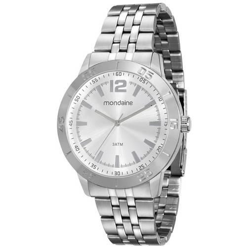 Relógio Mondaine Masculino 99041G0MVNE1 Prata