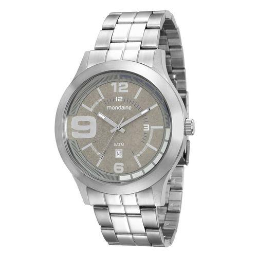 Relógio Mondaine Masculino Prata 94963g0mvna2