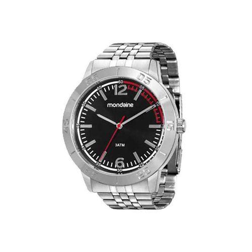 Relógio Mondaine Masculino Prata 99040g0mvne1
