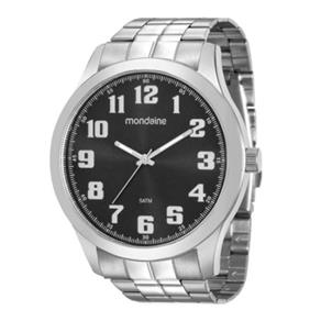 Relógio Mondaine Masculino Prata 99195g0mvne1