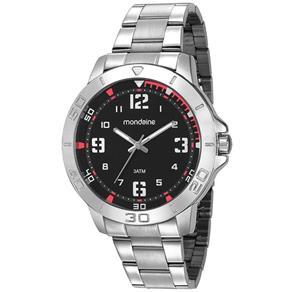 Relógio Mondaine Masculino Prata 99350g0mvne3