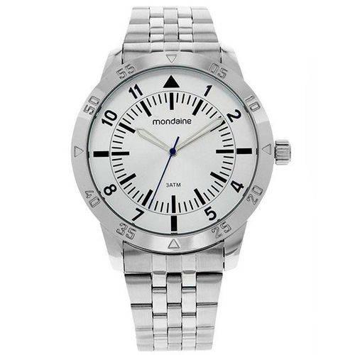 Relógio Mondaine Masculino Prata em Aço 99205g0mvne2