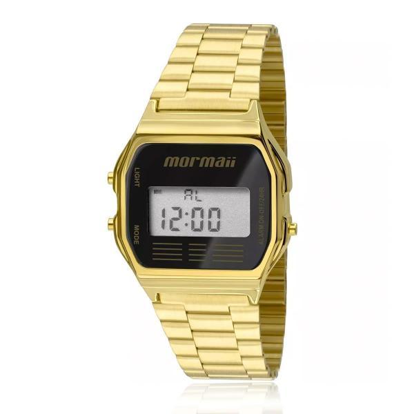 Relógio Mormaii Vintage Digital MOJH02AB/4P Dourado