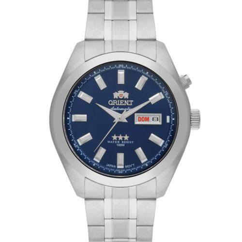 Relógio Orient Automático Masculino Prata - 469ss075 D1sx