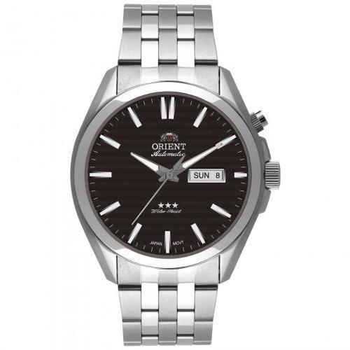Tudo sobre 'Relógio Orient Masculino Automatic 469SS041 P1SX'