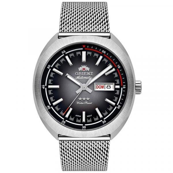 Relógio Orient Masculino Automático Prata - 469SS082 G1SX