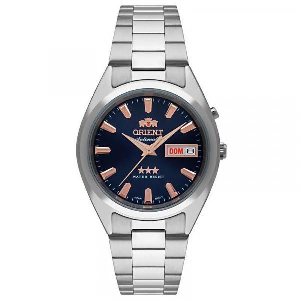 Relógio Orient Masculino Automático Prata - 469SS084 D1SX