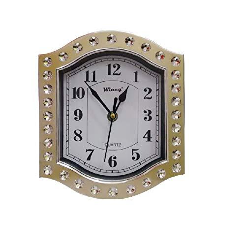 Relógio Parede Prata