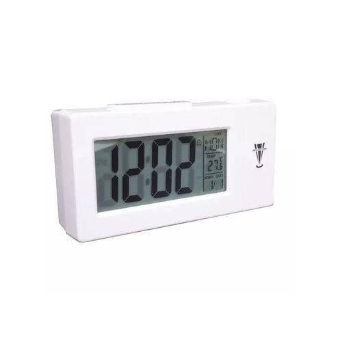 Relógio Projetor Digital Despertador Calendario Temperatura