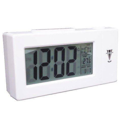 Relógio Projetor Digital Despertador Temperatura Calendário