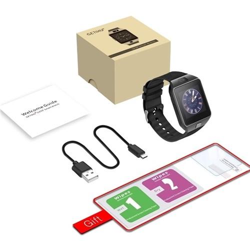 Relógio Smartwatch Dz09 (Preto)