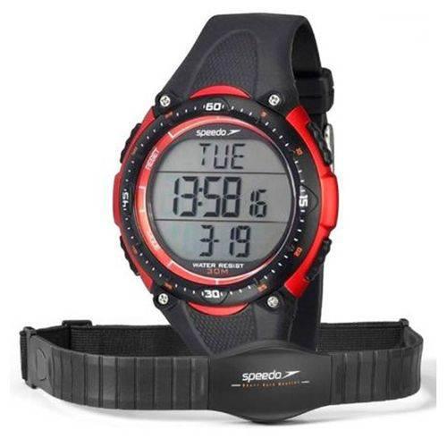 Tudo sobre 'Relógio Speedo Monitor Cardíaco Vermelho 80565g0epnp1'