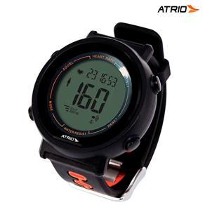 Relógio Sport Monitor Cardíaco Fortius Preto com Cinta Es049 ? Atrio