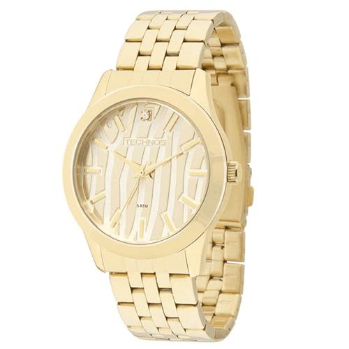 Relógio Technos 2035Lzf/4K (Aço Inox, Dourado, Analógico)