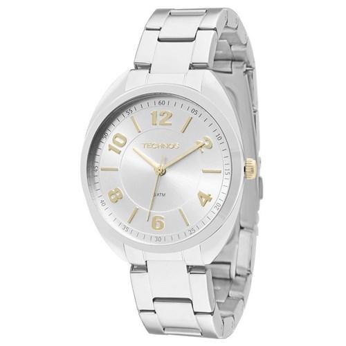 Relógio Technos 2035Mcg/1K (Aço Inox, Prateado, Analógico)