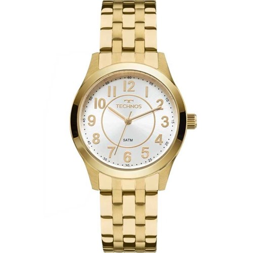 Relógio Technos 2035Mjd/4K (Aço Inox, Dourado, Analógico)