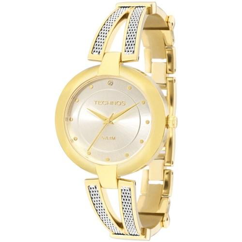 Relógio Technos 2036Lnn/4K (Aço Inox, Dourado, Analógico)