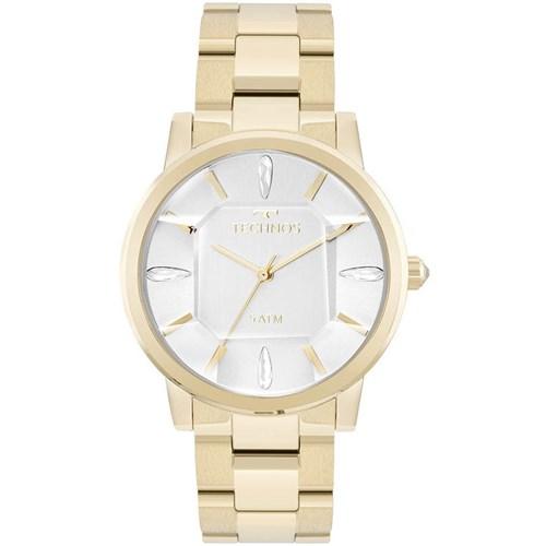 Relógio Technos 2039Br/4K (Aço Inox, Dourado, Analógico)