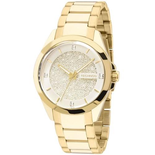 Relógio Technos 203Aaa/4K (Aço Inox, Dourado, Analógico)