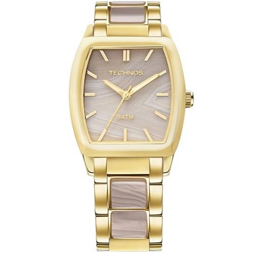 Relógio Technos 2033Ah/4C (Aço Inox, Dourado, Analógico)