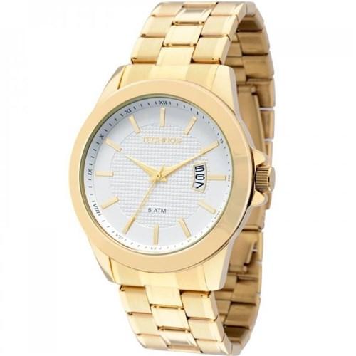 Relógio Technos 2115Knn/4K (Aço Inox, Dourado, Analógico)