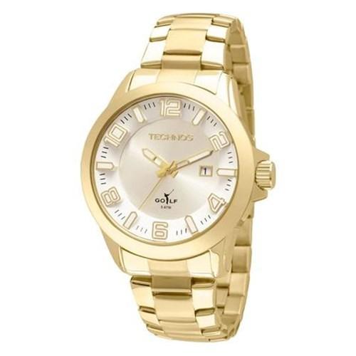 Relógio Technos 2115Kqs/4K (Aço Inox, Dourado, Analógico)